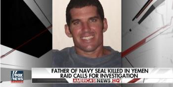 Fox Doesn't Want To Talk Much About Slain SEAL's Father's Criticisms Of Trump