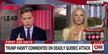 Tapper Hammers Conway Over Right-Wing Domestic Terrorism Until She Backs Down