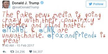 Comedy Central App Turns Trump's Tweets Into Kiddie Crayon