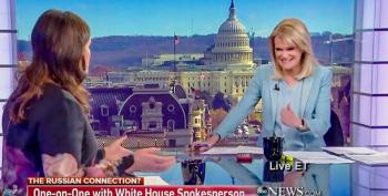 Martha Raddatz Calls Out Sarah Huckabee Sanders For Repeatedly Lying About Trump's Wiretap Tweets