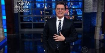 Colbert Explains Trump's Very Bad Weekend At Mar-A-Lago