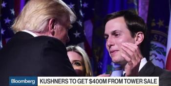 More Kleptocracy: Jared Kushner, Trump Son-In-Law, Set To Make $400M Off China Tower Deal