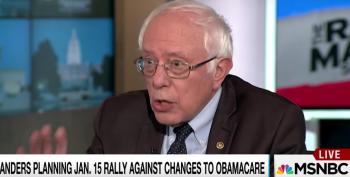 Bernie Sanders Shares His Blueprint For Democratic Resistance With Rachel Maddow