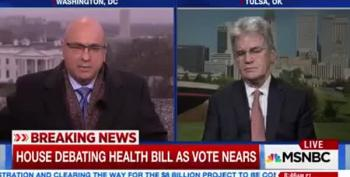 Ali Velshi Demolishes Tom Coburn's Lies About Healthcare