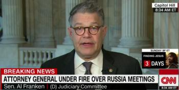 Al Franken: Sessions Misled Committee And Should Recuse Himself