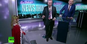 Young Girl To Nigel Farage: 'Mommy Says You Hate Foreigners!'