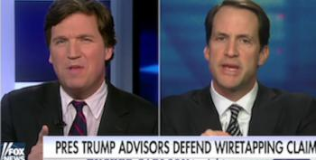 Rep. Jim Himes Masterfully Handles Tucker Carlson's Defense Of Trump's Wiretap Lies