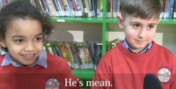 Open Thread - Irish Schoolchildren Talk Trump