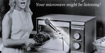Watch Out Kellyanne!  Your Microwave Is Taking Your Picture!