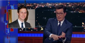 Colbert Nails It: Kushner To Head The 'Bureau Of Obvious Nepotism'