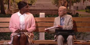 SNL Turns Kate McKinnon's Jeff Sessions Into Forrest Gump