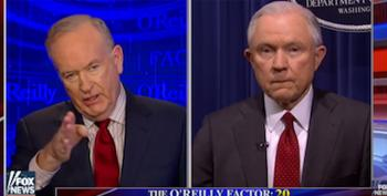 O'Reilly Asks Sessions About Leak Probe, Not Russia Investigation