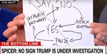 Chris Cuomo Shows Off The 'Sean Spicer Logic Chart'?