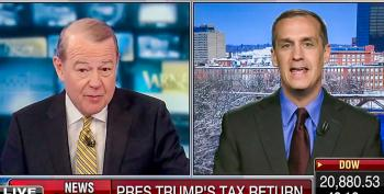 Corey Lewandowski And Stuart Varney Claim Trump Tax Returns Leak Is A 'Deep State' Obama Conspiracy