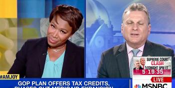 Joy Reid Destroys Lawmaker's Medicaid Fear Mongering: 'You Can't Panhandle To 138% Of Poverty Rate'