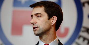 Crowd Boos 'Tehran Tom' Cotton For Defending Trump's Lies About His Tax Returns