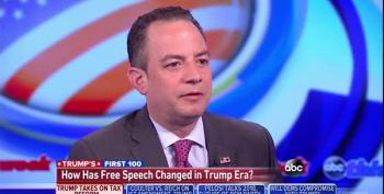 Priebus: White House Has 'Looked At' Curtailing The Free Press
