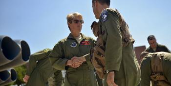 Religious Groups Attack New Air Force Academy Head Because She's A Lesbian