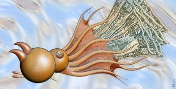 Trump's Goldman Sachs Vampire Squid Presidency