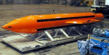 Military Just Dropped Biggest Non-Nuclear Bomb In Our Arsenal On Afghanistan (UPDATED)