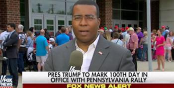 Fox Reporter Pretends Donald Trump Accomplished A Lot In His First 100 Days