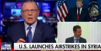 Fox Gushes Over Syria Strikes As Evidence 'America's Back After Seven Years'