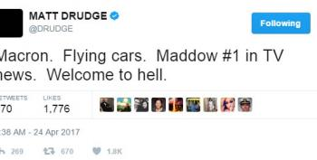 Matt Drudge Is In Hell Because Rachel Maddow Is #1