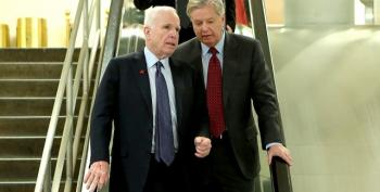 Lindsey Graham And John McCain Would Like You To Rally Around Trump, Please