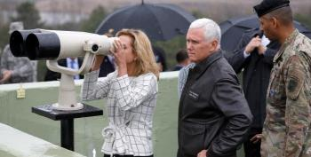 Mike Pence Rattles Trump's Saber In South Korea?