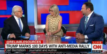 Carl Bernstein Shuts Down Trump Aide: 'He Has Lied Like No Other President'