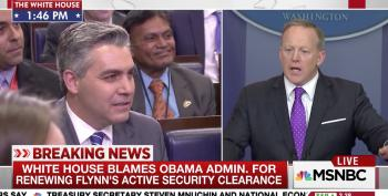 Sean Spicer Blames Michael Flynn's Hiring On Obama