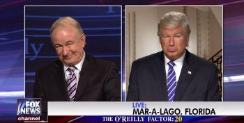 Alec Baldwin Does Double Duty As Trump And O'Reilly On SNL