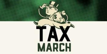 Tweets And Photos From The Tax March!