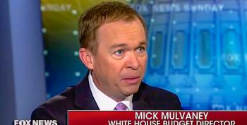 Trump Budget Chief: Border Wall Will 'Protect Millions Of Low Income Americans' Who Lose Obamacare