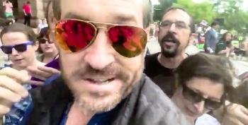 Pizzagate Truther Mike Cernovich Gets Punched In The Face At Tax Day Anti-Trump Rally
