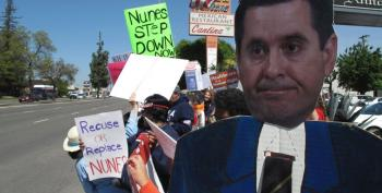 Devin Nunes Greeted By Protesters, Catcalls Back In Fresno