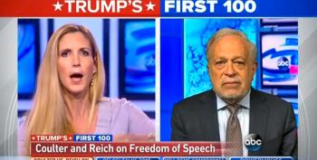 Robert Reich Uses Ann Coulter's Attack On Colleges To Slam Trump's War With The Free Press