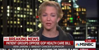 MSNBC Guest Bursts Into Tears During AHCA Segment: 'This Isn't The America I Love!'