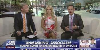Fox Buffoons Pretend Russian Scandal Is Hearsay, Not As Serious As 'Unmasking'