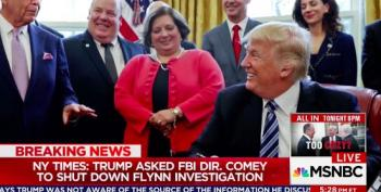Impeach! Trump Pressured Comey To Shut Down Flynn Investigation (UPDATED)