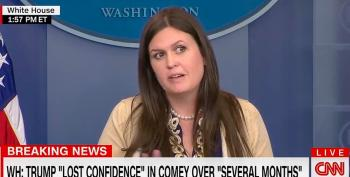 Sarah Huckabee Sanders: Comey Fired For 'Atrocities' Against Clinton, Not Russia Investigation