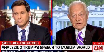 Bob Schieffer Normalizes Trump: 'He Actually Sounded Presidential' In Saudi Speech