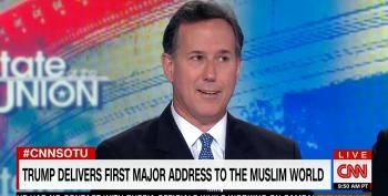 Rick Santorum: Courts Will Approve Trump's Muslim Ban Because His Saudi Speech Praised Islam