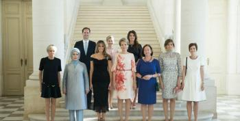 White House Excludes Gay First Spouse In Photo Caption