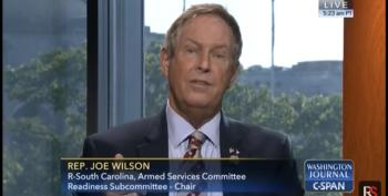 Rep. Joe 'You Lie' Wilson (R-SC) Destroyed By CSPAN Caller