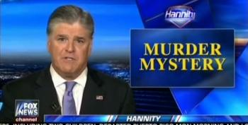 Hannity's Hypocrisy In Three Tweets: Respect Ailes' Family, But No One Else's