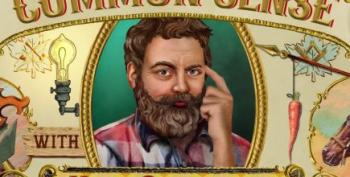 Open Thread - Common Sense From Nick Offerman