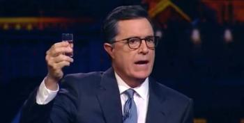 Stephen Colbert Declares Run For President In 2020 On Russian TV