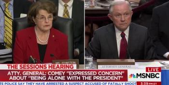 Senator Feinstein Puzzled By Sessions' Creative Question-Dodging