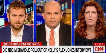 CNN's Brian Stelter: 'Alex Jones Is A Virus' And Megyn Kelly Is 'Spreading That Virus'